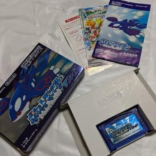 ゲームボーイアドバンス(ゲームボーイアドバンス)のポケットモンスター サファイア(携帯用ゲームソフト)