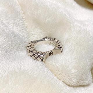 ボッテガヴェネタ(Bottega Veneta)のボッテガ イントレチャート シルバーリング(リング(指輪))