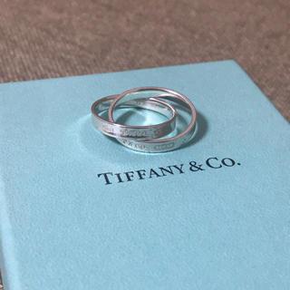 Tiffany & Co. - ティファニー インターロッキング サークルリング シルバー 指輪