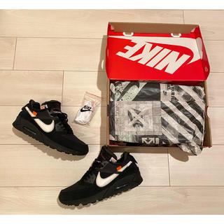OFF-WHITE - ナイキ オフホワイト コラボ OFFWHITE Nike エアマックス90