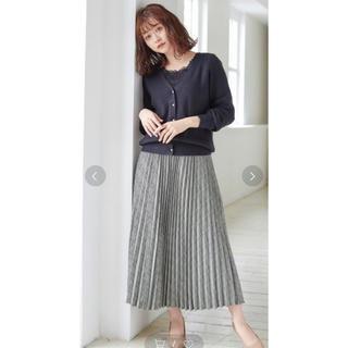 ハニーズ(HONEYS)のチェックプリーツスカート(ロングスカート)