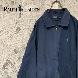 POLO RALPH LAUREN - 激レア 90s ポロラルフローレン スウィングトップ XL ブルー系