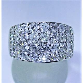 超豪華・2.00ct天然ダイヤモンドデザインリング(リング(指輪))