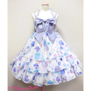 アンジェリックプリティー(Angelic Pretty)のDream Marineジャンパースカート カチューシャ(ひざ丈スカート)