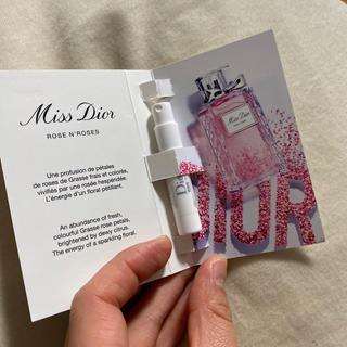 クリスチャンディオール(Christian Dior)のディオール  ミスディオール ローズ&ローズ 1ml(香水(女性用))