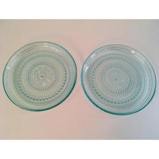イッタラ(iittala)のイッタラ カステヘルミ プレート 17cm ウォーターグリーン 廃盤(食器)