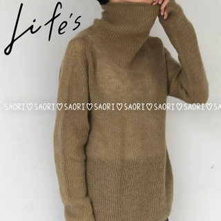 TODAYFUL - TODAYFUL【未使用に近い】Soft Mohair Turtle Knit