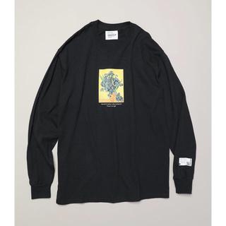フリークスストア(FREAK'S STORE)のアートフラワーロングスリーブTシャツ FREAK'S STORE(カットソー(長袖/七分))