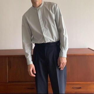 ヤエカ(YAECA)のfoufou フライフロント スタンドカラーシャツ(シャツ/ブラウス(長袖/七分))