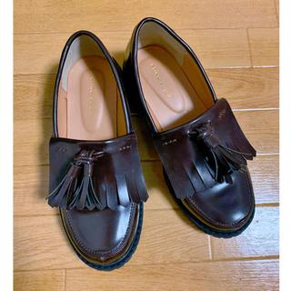 エヘカソポ(ehka sopo)のehka sopo タッセル付き ローファー(ローファー/革靴)