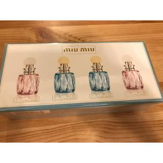 ミュウミュウ(miumiu)のmiumiu 人気ミニ香水4点セット(香水(女性用))