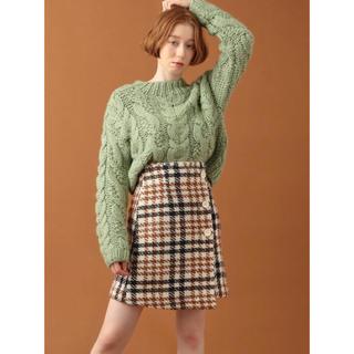 デイシー(deicy)の未使用美品♡ループツイードミニスカート♡deicy(ミニスカート)