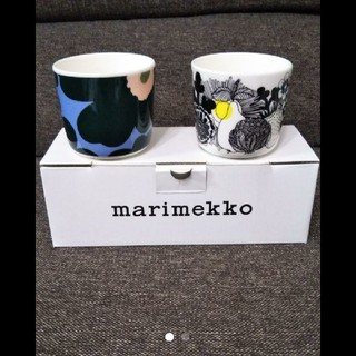 marimekko - 新品 マリメッコ ラテマグ コーヒーカップ