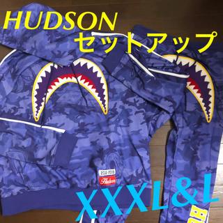 Supreme - HUDSON ハドソン シャークパーカー パンツ セットアップ XXXL L