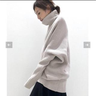 アパルトモンドゥーズィエムクラス(L'Appartement DEUXIEME CLASSE)のアパルトモンTwins Florence Denim Oversize Knit(ニット/セーター)