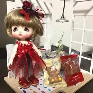 バレンタインワンピセット2(人形)