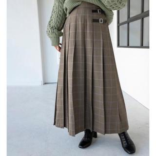 LOWRYS FARM - 【美品】ローリーズファーム チェックキルトスカート