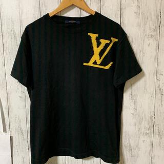 LOUIS VUITTON - ルイヴィトン メンズ 19SS ブリックプリントTシャツ