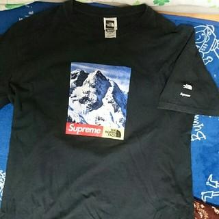 Supreme - シュプリーム ザノースフェイス コラボTシャツ