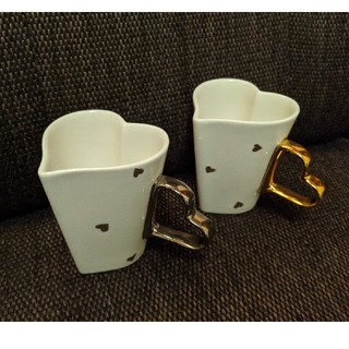 Francfranc - ハート型ペアマグカップ