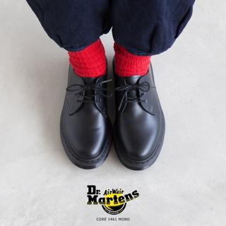 Dr.Martens - Dr.Martens 1461 MONO 3EYE UK5 3ホール
