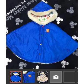 ホットビスケッツ(HOT BISCUITS)のミキハウス♡ポンチョ(ジャケット/上着)