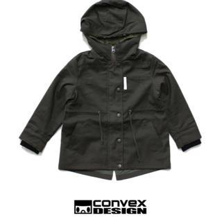 コンベックス(CONVEX)のconvexアウターコートミニタリーレッドカスタムZARAチャオパニックティピー(ジャケット/上着)