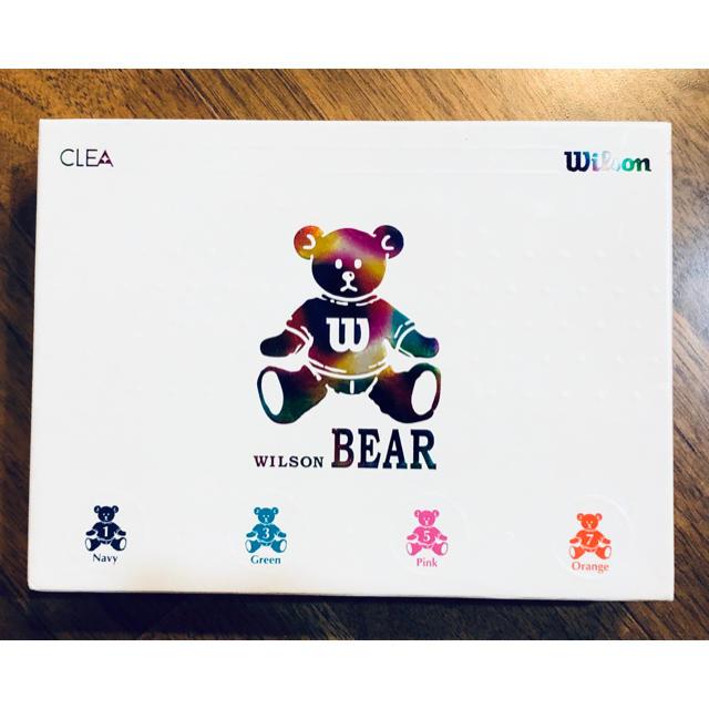 wilson(ウィルソン)のWILSON BEAR ゴルフボール スポーツ/アウトドアのゴルフ(その他)の商品写真