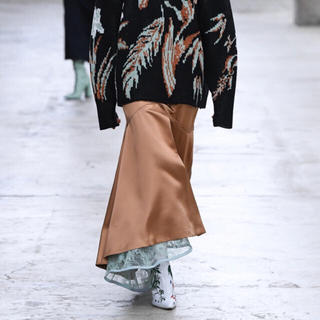 mame - mame レーススカート