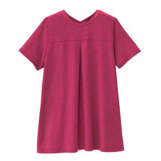 シャルレ(シャルレ)のLサイズ サポートウォーク シャルレ カットソー ピンク 半袖 レディース(カットソー(半袖/袖なし))