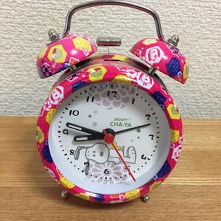 スヌーピー(SNOOPY)の目覚まし時計 スヌーピー(置時計)