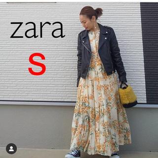 ZARA - 新品 ザラ フラワー 花柄 ワンピース S ユニクロ gu 好き