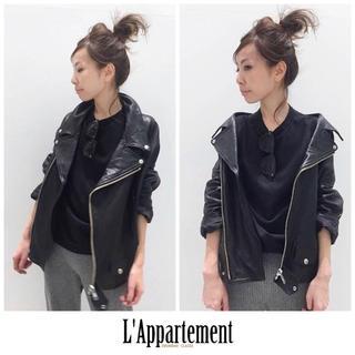 L'Appartement DEUXIEME CLASSE - 28日迄お値下げ♡新品♡アパルトモン♡Lisiere♡レザーライダースジャケット