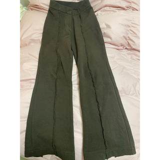 Ameri VINTAGE - AMERI THERMAL BOOT CUT PANTS
