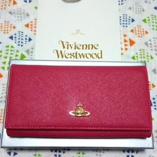 Vivienne Westwood - ♡新品未使用♡ ヴィヴィアン ピンク ピーチ 長財布 サフィアーノ ベージュ