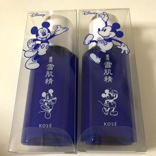 セッキセイ(雪肌精)の雪肌精 化粧水 ディズニーデザイン ミッキー(化粧水/ローション)