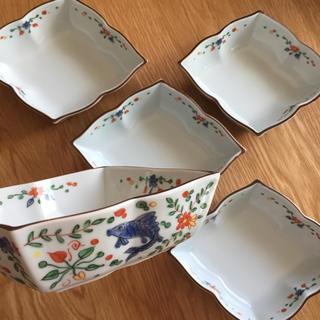 タチキチ(たち吉)の【新品】新品 たち吉 魚藻文 小鉢 5枚セット(食器)