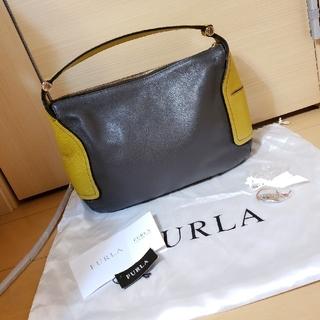 Furla - 未使用 FURLA バイカラー ショルダーバッグ ハンドバッグ