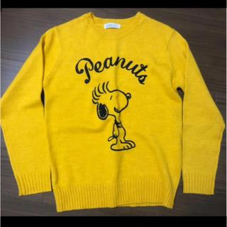 ピーナッツ(PEANUTS)のスヌーピー セーター(ニット/セーター)