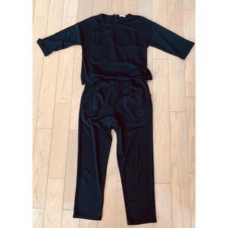 ジーユー(GU)の★GU オールインワン 5分袖 パンツドレス  ワンピース パンツ(その他)