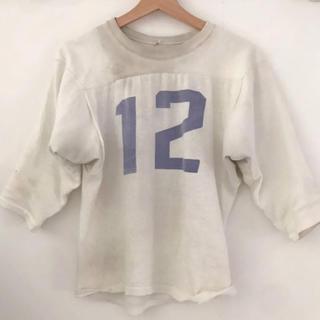 Lochie - ヴィンテージ   フットボールシャツ 染み込みjantiques  hooked