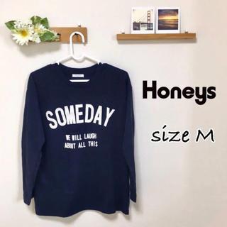ハニーズ(HONEYS)のハニーズ Tシャツ 長袖 Mサイズ(Tシャツ/カットソー(七分/長袖))