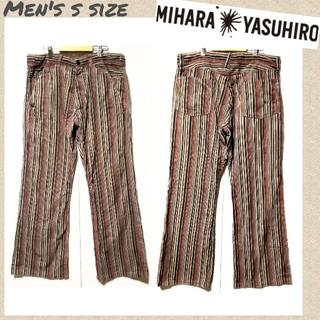 ミハラヤスヒロ(MIHARAYASUHIRO)の☆MIHARA YASUHIRO☆変形コーデュロイパンツ デザインパンツ S(ワークパンツ/カーゴパンツ)
