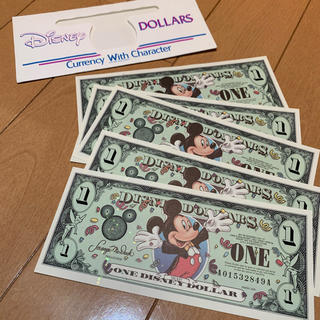 ディズニー(Disney)のアメリカ限定 ディズニードル 5枚(貨幣)