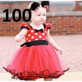 Disney - C007_100:ミニーちゃん ベビー ドレス