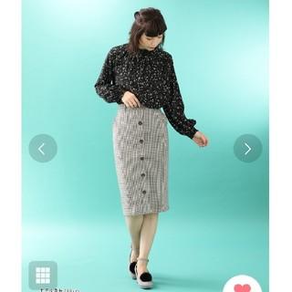 Honeys  前釦ナロースカート