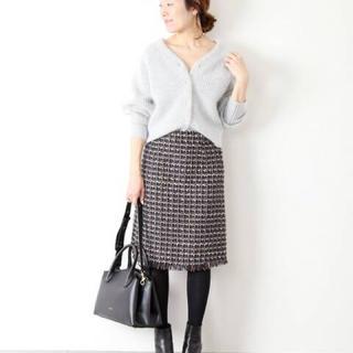 ラトータリテ(La TOTALITE)のラトータリテ ツイード台形スカート (ひざ丈スカート)