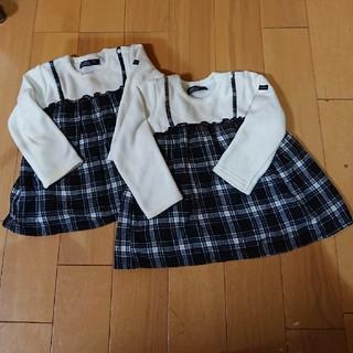 フタフタ(futafuta)のフタフタ90cm 裏起毛 (Tシャツ/カットソー)