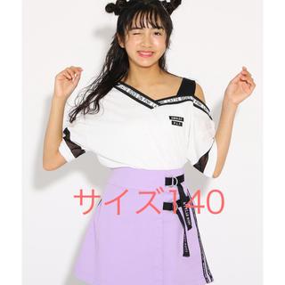 ピンクラテ(PINK-latte)のPINK-latte★ワンショル Vネックトップス 140(Tシャツ/カットソー)