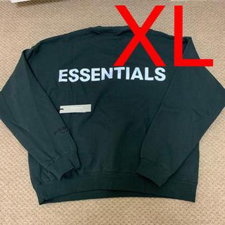 フィアオブゴッド(FEAR OF GOD)のXL Fear Of God Essentials Sweatshirt 黒(スウェット)
